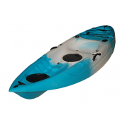 Kayak 1 ατόμου Fish and Fun 270cm x 83cm Extra Plus με κουπί και πλατοκάθισμα Super Deluxe, izy-kayaks (270-002)